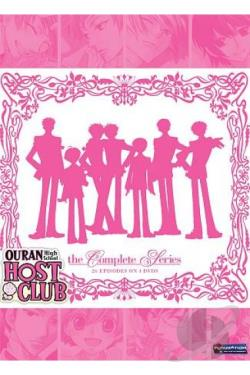 Ouran High School Host Club DVD Cover Art