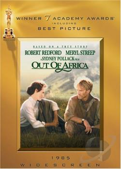Out of Africa DVD Cover Art