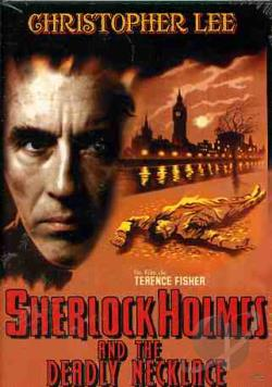 Sherlock Holmes and the Deadly Necklace DVD Cover Art