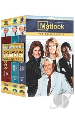 Matlock: Seasons 1-3 DVD Cover Art