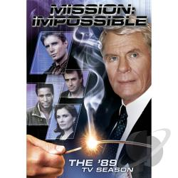 Mission: Impossible - The '88 and '89 TV Seasons DVD Cover Art