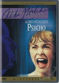 Psycho DVD Cover Art