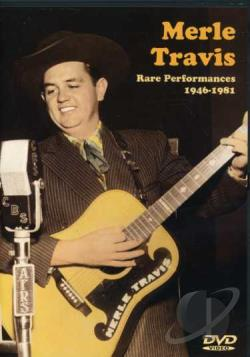 Merle Travis - Rare Performances 1946-1981 DVD Cover Art