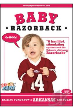 Baby Razorback (University of Arkansas) DVD Cover Art