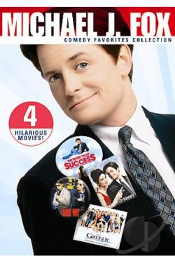 Michael J. Fox Comedy Favorites Collection DVD Cover Art