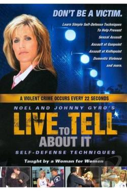 Live to Tell About It: Self-Defense for Women DVD Cover Art