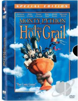 Monty Python and the Holy Grail DVD Cover Art