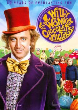 Willy Wonka and the Chocolate Factory DVD Cover Art