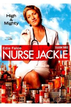 Nurse Jackie - The Complete Third Season DVD Cover Art