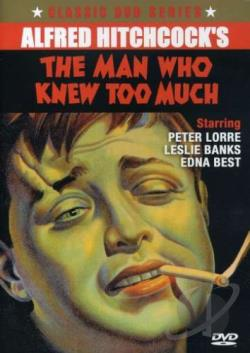 Man Who Knew Too Much DVD Cover Art