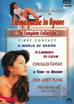 Emmanuelle in Space Collection DVD Cover Art