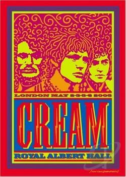 Cream: Royal Albert Hall DVD Cover Art