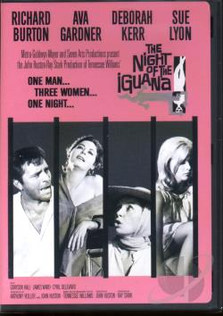 Night of the Iguana DVD Cover Art