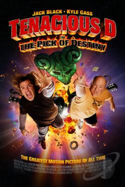 Tenacious D in: The Pick of Destiny DVD Cover Art