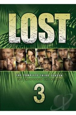 Lost - The Complete Third Season DVD Cover Art