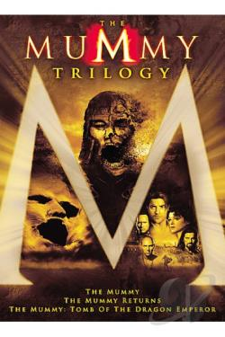 Mummy Trilogy DVD Cover Art