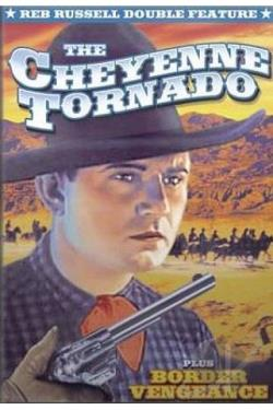 Reb Russell Double Feature: The Cheyenne Tornado/Border Vengeance DVD Cover Art