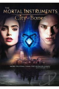 Mortal Instruments: City of Bones DVD Cover Art