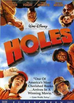 Holes DVD Cover Art