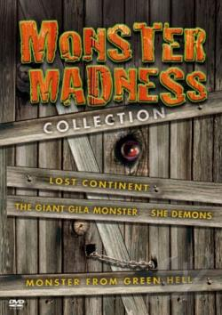 Monster Madness Collection DVD Cover Art