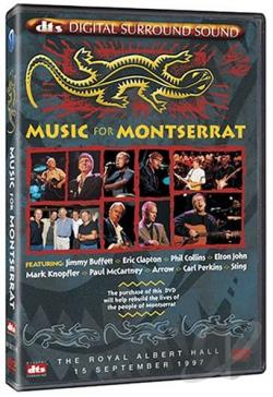 Music for Montserrat DVD Cover Art