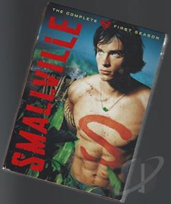 Smallville - The Complete First Season DVD Cover Art