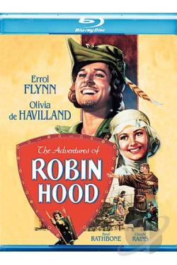Adventures of Robin Hood BRAY Cover Art