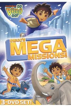go diego go diegos mega missions dvd movie