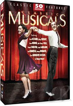 Classic Musicals 50 Movie Pack - 12 Disc Set DVD Cover Art