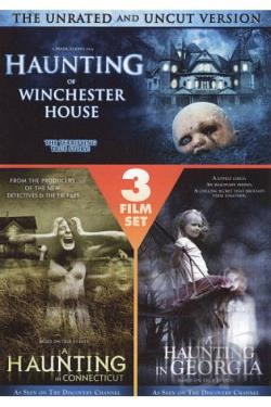 Haunting Of Winchester House/A Haunting In Connecticut/A Haunting In Georgia DVD Cover Art