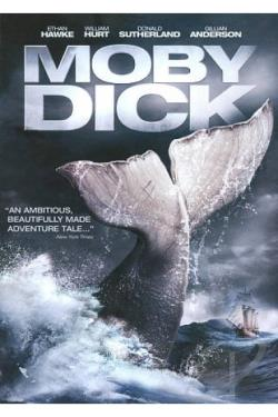 Moby Dick DVD Cover Art