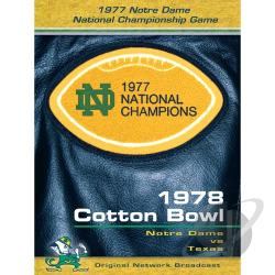 1978 Cotton Bowl DVD Cover Art