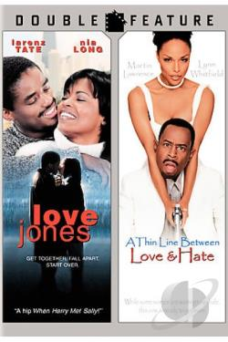Thin Line Between Love & Hate/Love Jones DVD Cover Art