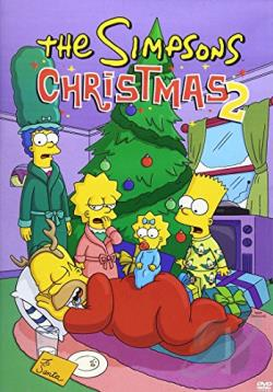 Simpsons: Christmas 2 DVD Cover Art