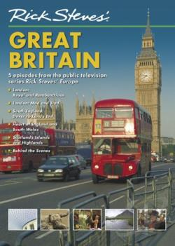 Rick Steves' Europe: Britain DVD Cover Art