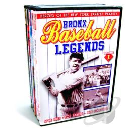 New York Baseball Collection DVD Cover Art