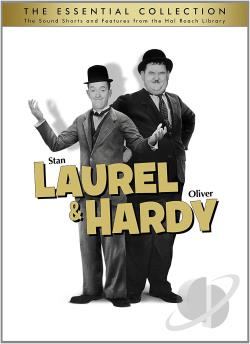 Laurel & Hardy: The Essential Collection DVD Cover Art