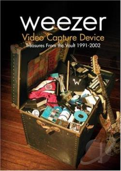 Weezer - Video Capture Device 1991-2002 DVD Cover Art