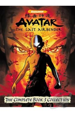 Avatar: The Last Airbender - Book 3: Fire - The Complete Collection DVD Cover Art