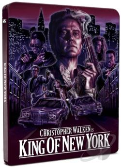 King Of New York (1990) BRAY Cover Art