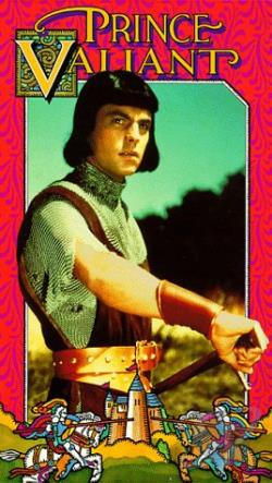 Prince Valiant VHS Cover Art