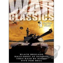 War Classics - Vol. 4: 4 Feature Films DVD Cover Art