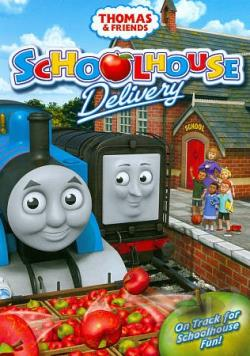 Thomas & Friends: Schoolhouse Delivery DVD Cover Art