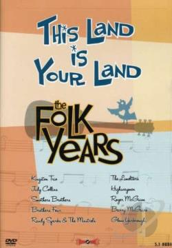 This Land Is Your Land - The Folk Years DVD Cover Art