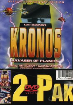 Kronos/Spaceways - 2 Pack DVD Cover Art
