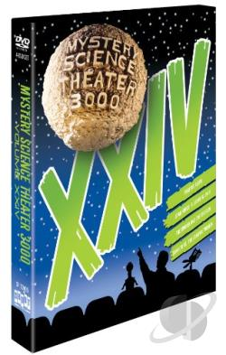 Mystery Science Theater 3000: XXIV DVD Cover Art