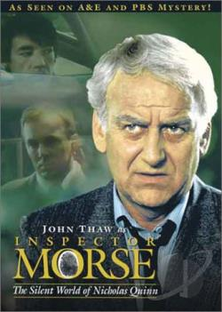 Inspector Morse - The Silent World of Nicholas Quinn DVD Cover Art