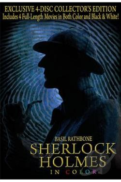 Sherlock Holmes in Color DVD Cover Art