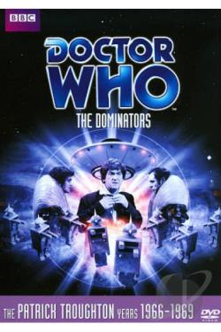 Doctor Who - The Dominators DVD Cover Art