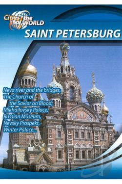 Cities of the World: St. Petersburg, Russia DVD Cover Art